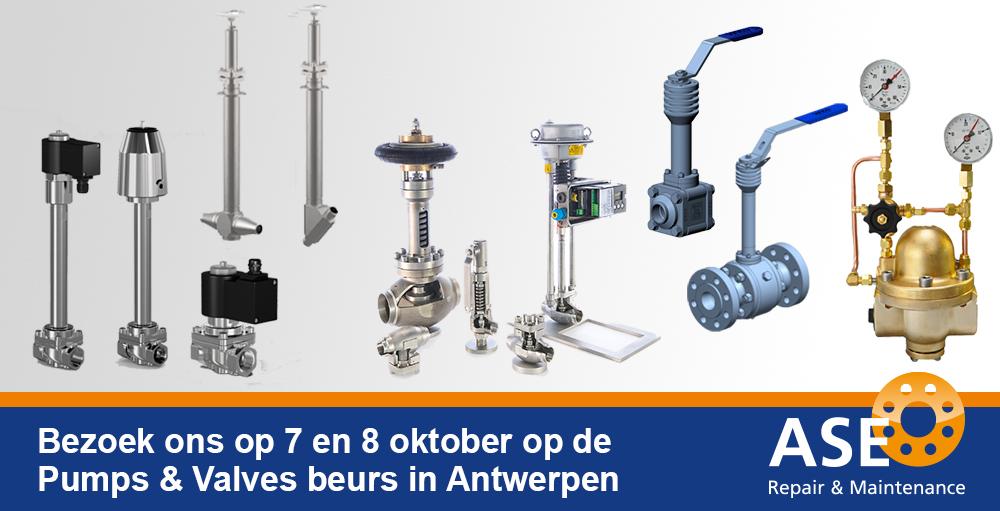Beurs Pumps & Valves - A.S.E. Repair BV