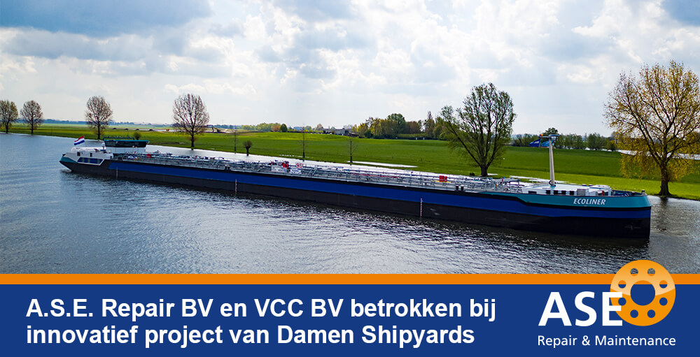 Samenwerking A.S.E. Repair BV en Damen Shipyards
