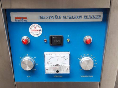 ASE Repair - Reinigen Zuurstofgebruik - De reinigingsmachine