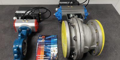 ASE Repair BV - Papierindustrie - Vlinderkleppen en kogelkranen