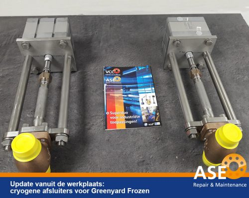 Cryogene afsluiters - ASE Repair BV - 1